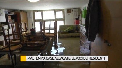 Maltempo, case allagate: la voce dei residenti – VIDEO