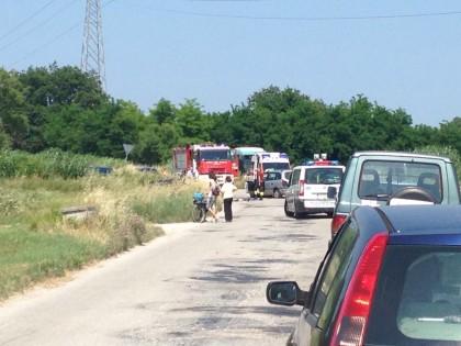 Incidente a Rosciano di Fano, coinvolte due auto
