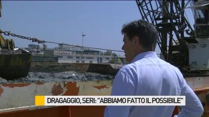 """Dragaggio del porto, Seri: """"Noi abbiamo fatto il possibile"""" – VIDEO"""