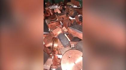Sequestrati 50 quintali di metalli pregiati: scoperta e denunciata la banda di ladri – VIDEO