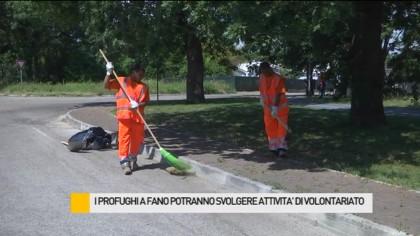 I profughi a Fano potranno svolgere attività di volontariato – VIDEO