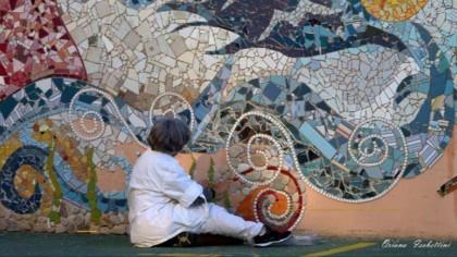Mosaico urbano sul lungomare di Marotta – VIDEO