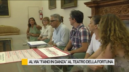 "Al via ""Fano in Danza"" al Teatro della Fortuna – VIDEO"