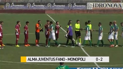 Alma Juventus Fano – Monopoli    0 – 2 – VIDEO