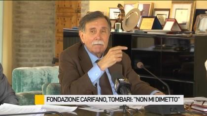 """Fondazione Carifano, Tombari: """"Non mi dimetto"""" – VIDEO"""