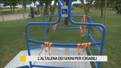 L'altalena dei sogni per i disabili – VIDEO