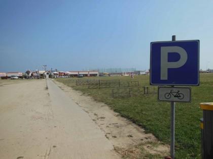 A Baia Flaminia in bicicletta o in navetta