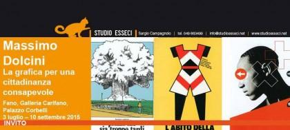 A Fano la grafica rivoluzionaria di Massimo Dolcini