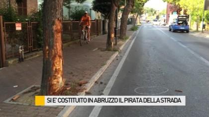Si è costituito in Abruzzo il pirata della strada – VIDEO