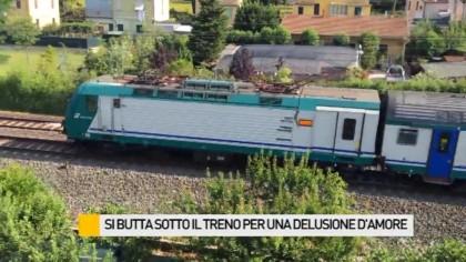 Giovane di 25 anni finisce sotto un treno. Forse è suicidio – VIDEO