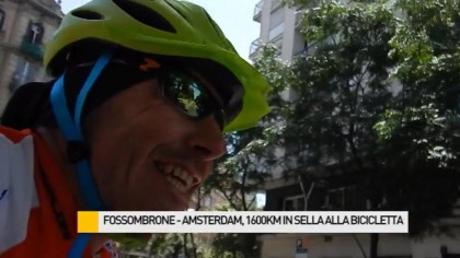 Fossombrone – Amsterdam: 1600 Km in sella alla bicicletta – VIDEO