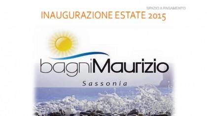 Bagni Maurizio – Inaugurazione estate 2015