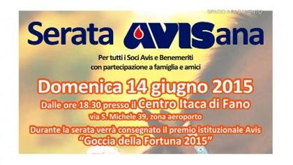 Serata Avisana 14/6/2015