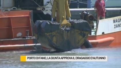 Porto di Fano, la giunta approva il dragaggio d'autunno – VIDEO
