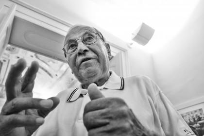 Il fotografo Riccardo Gambelli celebrato e festeggiato a Lucera
