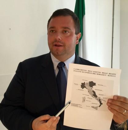 """Carloni: """"Il PD propone di dividere le Marche"""" – VIDEO"""