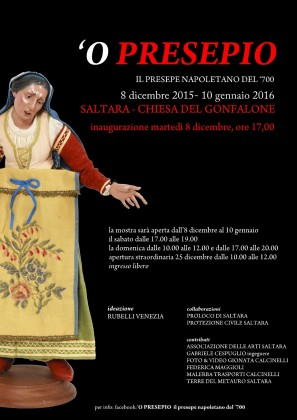 L'arte presepiale napoletana approda a Saltara