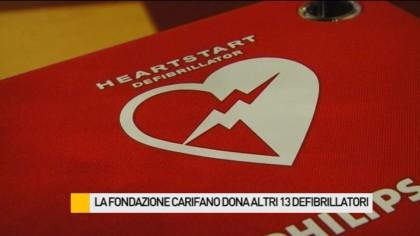 La Fondazione Carifano dona altri 13 defibrillatori – VIDEO