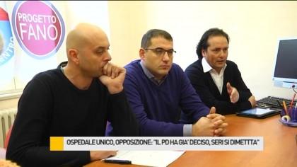 """Ospedale unico, Progetto Fano e UDC: """"E' la sceneggiatura di un film"""" – VIDEO"""