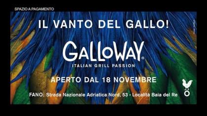 Galloway – Inaugurazione