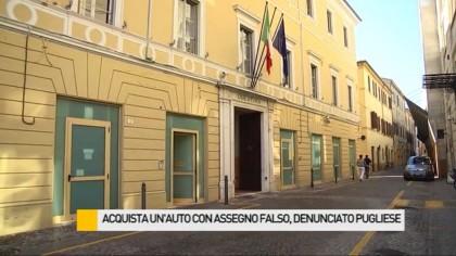 Acquista un'auto con assegno falso, denunciato 50enne pugliese – VIDEO