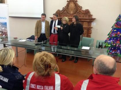 L'associazione Incoming Fano dona 1.000 euro alla Croce Rossa Italiana