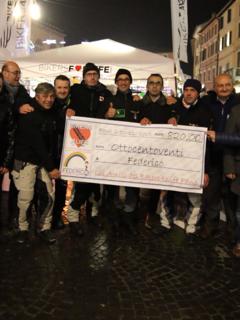 Solidarietà per Federico, donati oltre 800 euro dal Moto Club Bikers For Life