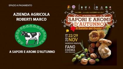Azienda agricola Roberti a Sapori e Aromi d'Autunno