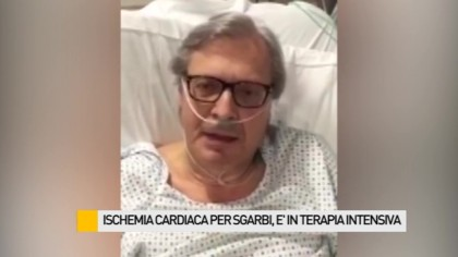 Malore nella notte per Vittorio Sgarbi. Operato, è in terapia intensiva – VIDEO