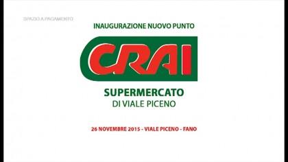 Inaugurazione punto Crai in Viale Piceno a Fano