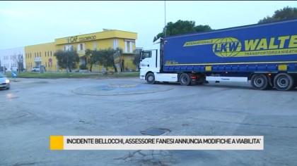 Incidente Bellocchi, l'assessore Fanesi annuncia modifiche alla viabilità – VIDEO