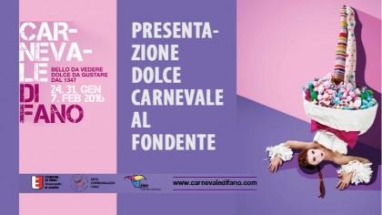 """Presentazione dolce """"Carnevale al Fondente"""""""