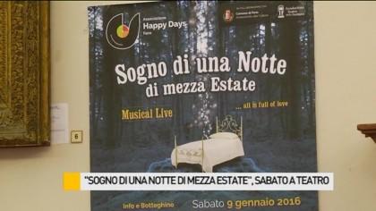 """""""Sogno di una notte di mezza estate"""", sabato andrà in scena al Teatro della Fortuna – VIDEO"""