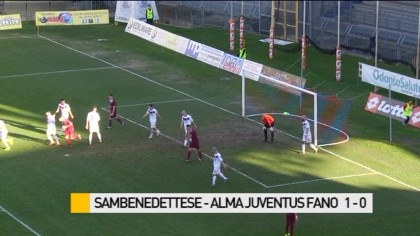 Sambenedettese – Alma Juventus Fano   1-0 – VIDEO