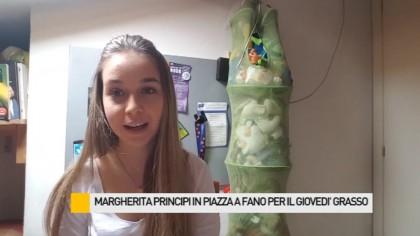 """Inizia la settimana """"grassa"""" del Carnevale di Fano, ospite Margherita Principi – VIDEO"""