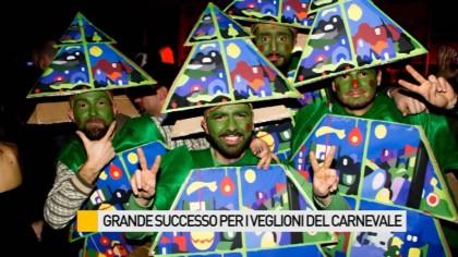 Grande successo per i Veglioni del Carnevale di Fano – VIDEO