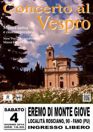 Musica sacra all'ora del Vespro con il New Vocal Ensemble di Senigallia