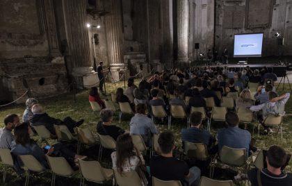 La serata di Centrale Fotografia con Botto e Bruno Ex Chiesa di San Francesco 2016