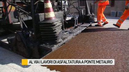 Al via a Fano i lavori di asfaltatura della Statale 16 – VIDEO