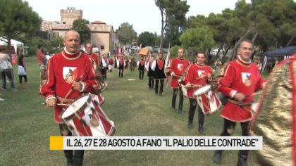 Alla pineta del Ponte Metauro la terza edizione del Palio delle Contrade – VIDEO