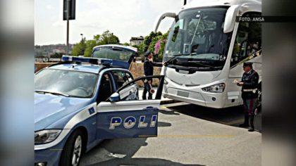La polizia stradale di Fano scopre traffico illegale di passeggeri  –  VIDEO