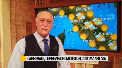 Le previsioni meteo per l'ultima domenica del Carnevale di Fano – VIDEO