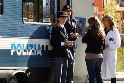 """Campagna di sensibilizzazione della Polizia di Stato """"Questo non è amore""""."""