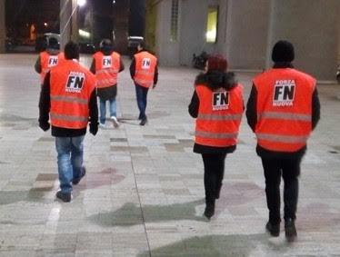 Passeggiate per la sicurezza di Forza Nuova, nella notte presidiato il Pantano