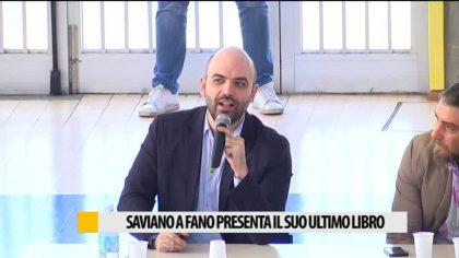 Saviano a Fano presenta il suo ultimo libro