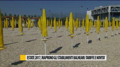 Estate 2017, riaprono gli stabilimenti: tariffe e novità – VIDEO
