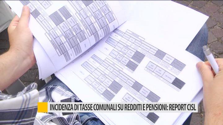 Incidenza di tasse comunali su redditi e pensioni report for Tasse comunali