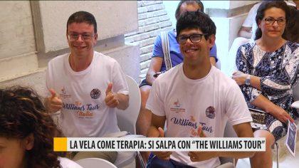 """La vela come terapia, si salpa con """"the Williams tour"""""""