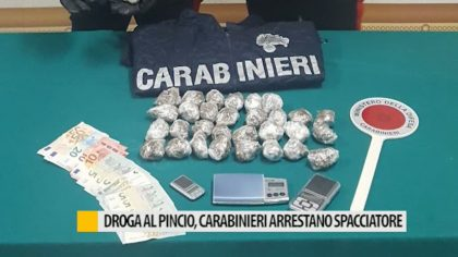 I Carabinieri arrestano spacciatore al Pincio di Fano – VIDEO