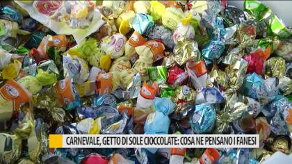 Carnevale, getto di sole cioccolate: cosa ne pensano i fanesi – VIDEO